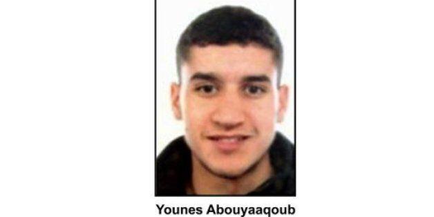 L'identité et la photo de Younès Abouyaaqoub, Marocain de 22 ans suspecté et en fuite, ont été
