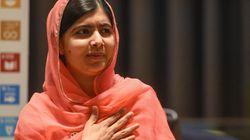 Malala heureuse d'apprendre qu'elle a été acceptée à