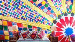 On a trouvé le riad le plus coloré du Maroc