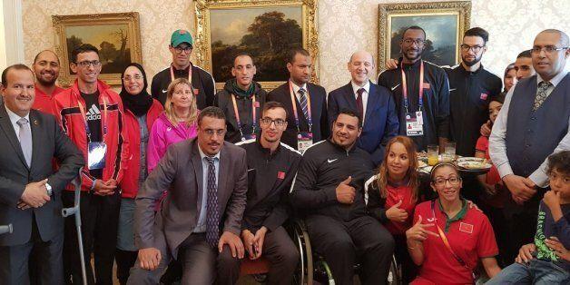 World Para Athletics 2017: Abdesselam Aboudrar reçoit à Londres la sélection