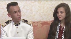 Le prince Moulay El Hassan reçoit des enfants palestiniens au palais royal de
