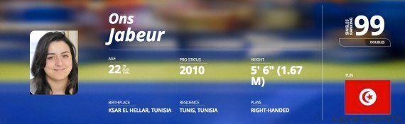 La Tenniswoman tunisienne Ons Jabeur intègre pour la première fois le Top 100