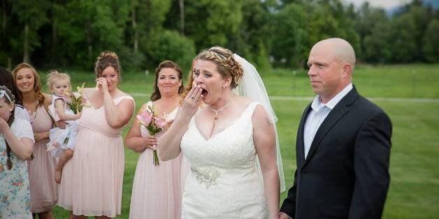 L'histoire émouvante de cette mariée ne vous laissera pas