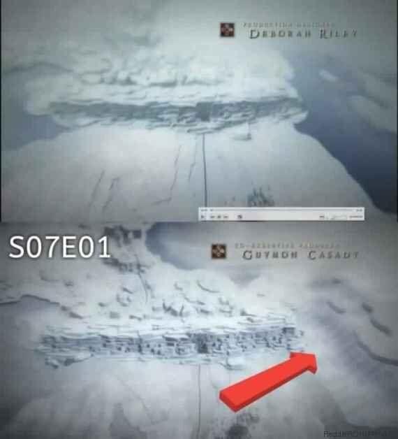 Game of Thrones, saison 7 épisodes 1 et 2: le générique révèle un détail sur l'hiver qui arrive [ATTENTION
