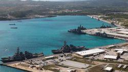 La Corée du Nord menace de tirer des missiles près de l'île américaine de