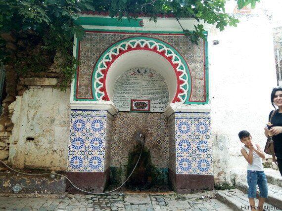 Les fontaines de la Casbah, sources de vie et
