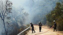 Vague d'incendies: 2.000 hectares détruits selon les