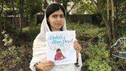 Malala dévoile son tout premier