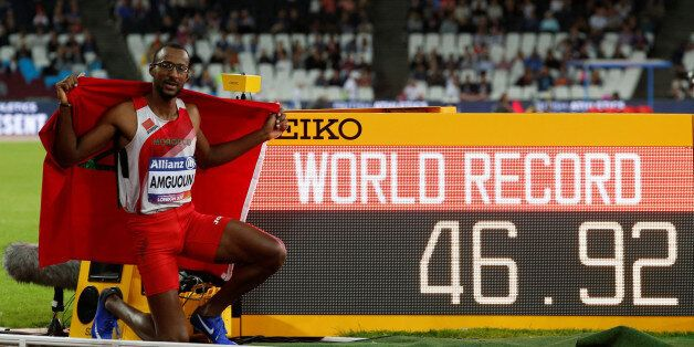 Athletics - IAAF World ParaAthletics Championships - London, Britain - July 21, 2017 Morocco's Mohamed...