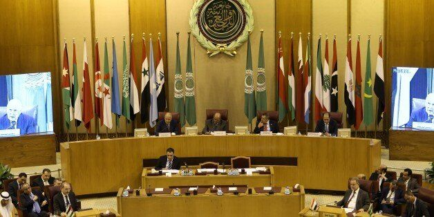 CAIRO, EGYPT - JULY 27: Arab Foreign Minister's meeting held to discuss Israeli violations and restrictions...
