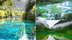 Séisme en Chine: Les images magnifiques du parc national de Jiuzhaigou avant le