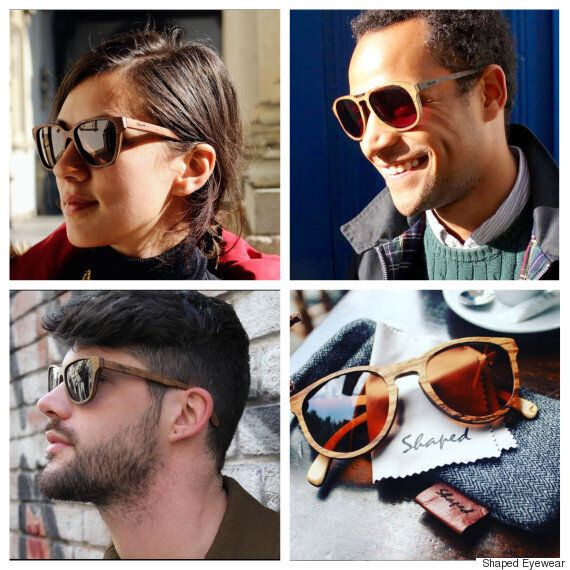 Shaped, la marque de lunettes en bois qui nous en met plein la