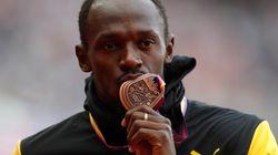 Usain Bolt prend sa retraite après avoir fini 3ème aux championnats de Londres