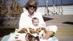 De nouvelles photos de Diana et ses fils