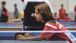 Kamil Antoine Leroy, espoir marocain du tennis de table à seulement 12