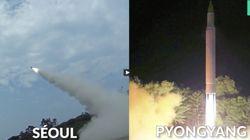 Les deux Corées s'affrontent par images d'essais de missiles