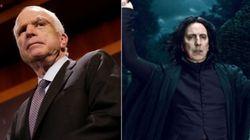 John McCain et Severus Rogue ne font