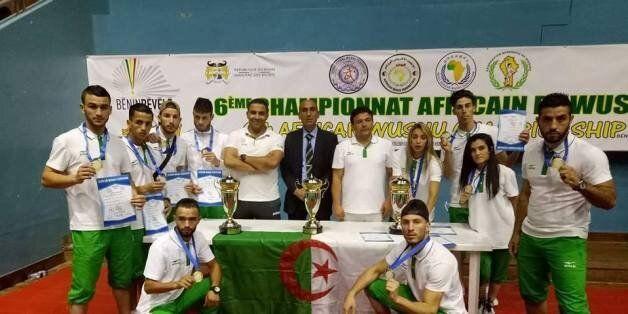 Championnats d'Afrique de wushu: l'Algérie prend la 2ème place avec 9 médailles