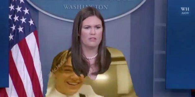 La porte-parole de la Maison Blanche, Sarah Huckabee Sanders, n'aurait jamais dû porter du