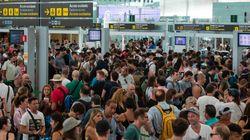 Aéroport de Barcelone: une grève engendre des files d'attente