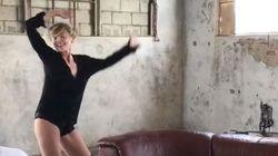 Sharon Stone montre qu'elle n'a rien perdu dans ce shooting photo
