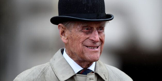 Britain's Prince Philip, in his role as Captain General, Royal Marines, attends a Parade to mark the...