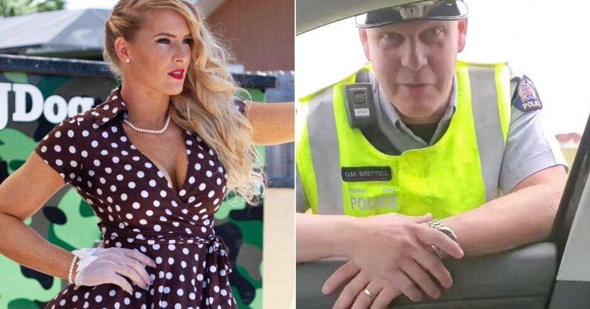 WWE Wrestler Lacey Evans' Canadian Traffic Stop Was Staged, RCMP Admit - HuffPost Canada
