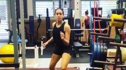 En vidéo, Inès Boubakri se prépare pour les championnats du monde d'escrime de