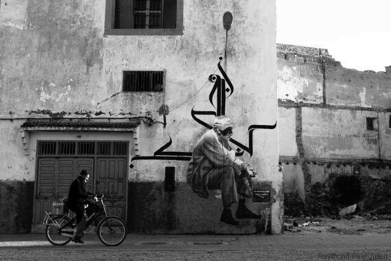 Street art: Un artiste et un photographe français vont écrire un conte mural dans tout le