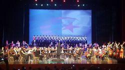 Concert gratuit de musique symphonique dedié aux chant patriotiques ce soir à l'opéra