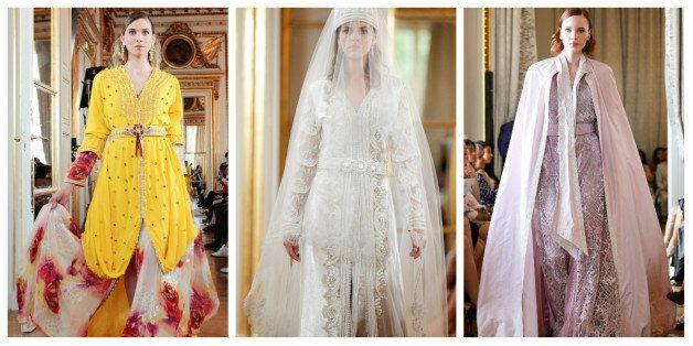 Le caftan marocain à l'honneur à Paris pendant la semaine de la Haute Couture