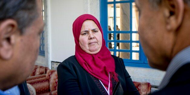 In December 2nd, 2014: new elected representative delegated for the Popular Front Mbarka Brahmi is the...