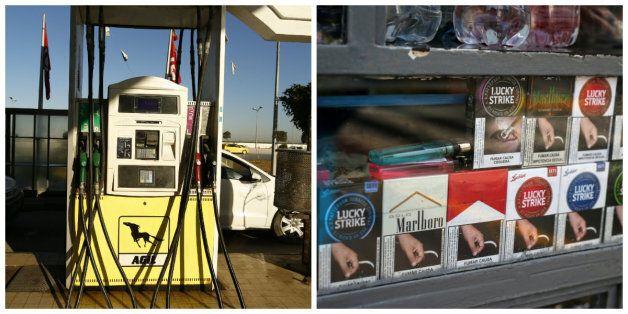 Hausse des prix de l'essence et des cigarettes: Vendeurs et consommateurs