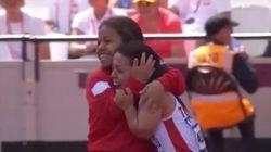 La magnifique joie de Rima Abdelli après sa médaille d'or aux championnats du monde d'athlétisme handisport