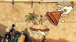 Le graffeur JACE réalise un parcours à Marrakech