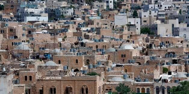 La vieille ville d'El Khalil en Cisjordanie occupée, le 29 juin