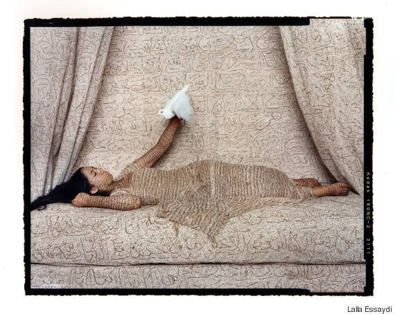 La photographe marocaine Lalla Essaydi s'expose à