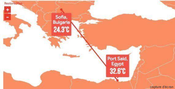 En 2100, quel temps fera-t-il à Tunis? La réponse dans cette projection de l'Organisation Météorologique