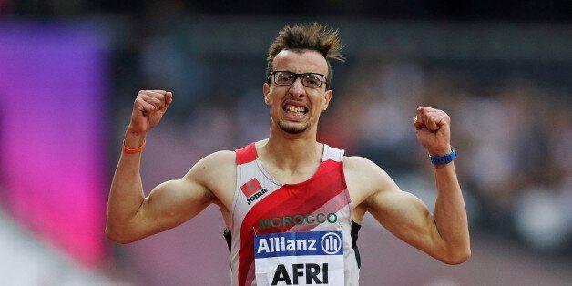 Athletics - IAAF World ParaAthletics Championships - London, Britain - July 18, 2017 Mahdi Afri of Morocco...