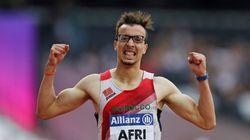 World Para Athletics Championships: Mahdi Afri remporte à Londres la médaille d'or du 400