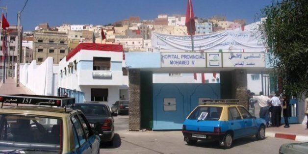 L'individu a été transporté à l'hôpital Mohammed