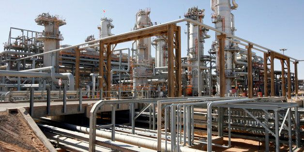 ALGERIA - DECEMBER 14: The In Salah Gas (ISG) Krechba Project, run by Sonatrach, British Petroleum (BP),...
