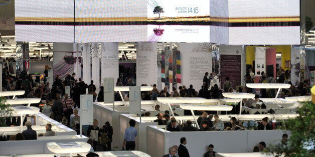 PARIS, FRANCE - SEPTEMBER 18: A general view during Premiere Vision: The World's Premier Fabric Show...