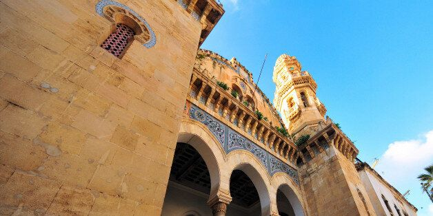 Algiers, Algeria: Ketchaoua mosque, flanked by two minarets - Kasbah of Algiers - UNESCO World Heritage...