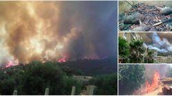 Lutte contre les incendies: Tizi-Ouzou reçoit des renforts de Boumerdès et de