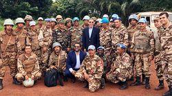 Les casques bleus marocains en RCA ont reçu l'ambassadeur du Maroc auprès des Nations