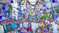 Les habitants d'un quartier à Tanger se mobilisent pour fêter ensemble