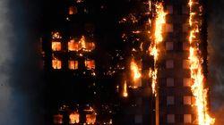 Londres: un incendie spectaculaire ravage une tour d'habitation, au moins 30