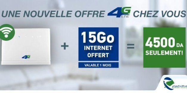 4G LTE : Algérie Telecom hisse l'illimité à des tarifs plus