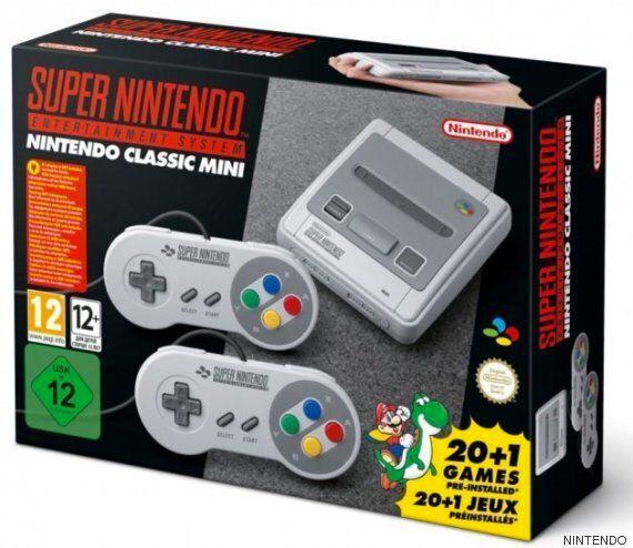 La Super Nintendo Classic, nouvelle console rétro dévoilée par